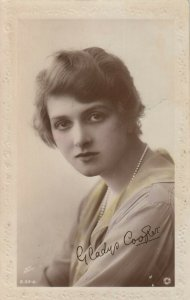 RP; Actress Gladys Cooper , 1919