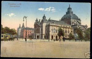 germany, FRANKFURT a. M., Schauspielhaus, Theatre 1910s