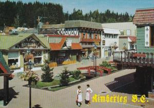 Canada British Columbia Kimberley The Bavarian Corner