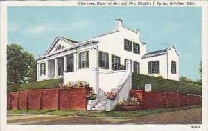 Mississippi Natchez Cherokee Home of Mr and Mrs Charles J Byrne Curteich