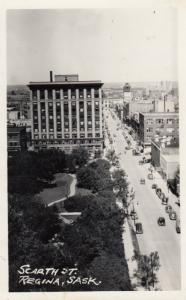 RP: REGINA , Saskatchewan , Canada , 1920-30s ; Scarth Street