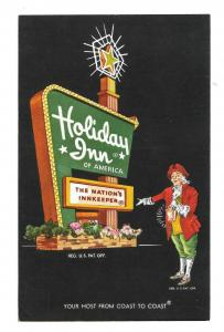 Holiday Inn Hammond Indiana Vintage Motel Hotel Advertising Postcard
