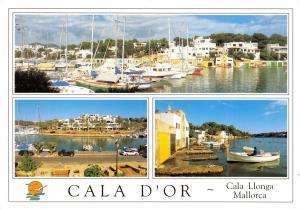 Postcard 1999 Cala D'Or, Cala Llonga, Mallorca, Majorca, Spain, Multiview H12