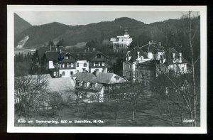 5226 - AUSTRIA Küb am Semmering 1954 Real Photo Postcard