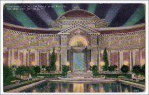 CA - San Francisco. Court of Palms, Panama-Pacific Int'l Exposition, 1915