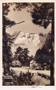 Mount Rushmore Memorial South Dakota Real Photo