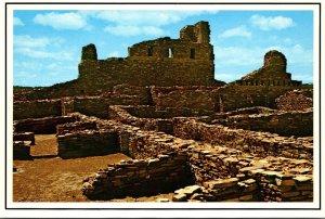 New Mexico Mountainair San Gregorio de Abo Mission Monument