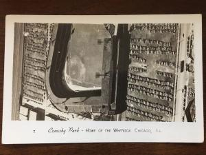 RPPC 1930s Comisky Park Home of the Chicago White Sox, IL by Grogen D15