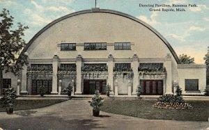 Grand Rapids Michigan~Ramona Amusement Park~Planter Boxes~Dancing Pavilion 1915