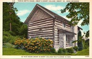 Virginia Emory Tobies Smyth House Emory & Henry College