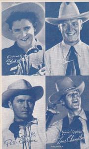 Cowboy Arcade Card Bob Steele Jack Luden Peter Cookson Lane Chandler