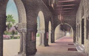 Arcada At Entrance To Memorial Church Stanford University California Albertyp...