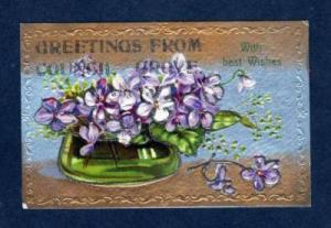 KS Greetings From COUNCIL GROVE KANSAS  Postcard PC