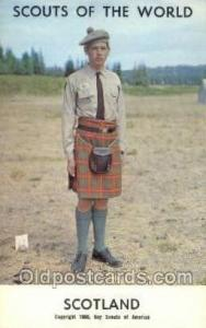 Scotland Boy Scouts of America, Scouting Postcard, Post Cards, Copyright 1968...