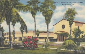 Florida Hollywood Church Of The Little Flower 1954