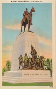 Pennsylvania Gettysburg Virginia State Memorial