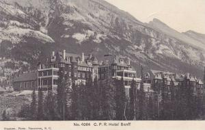 C. P. R. Hotel Banff, Alberta, Canada, 1900-1910s