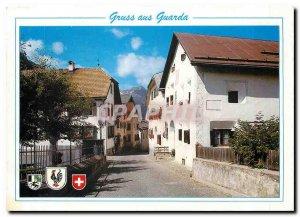 Modern Postcard Gruss in Guarda