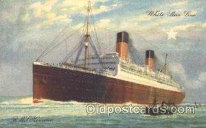 R.M.S. Homeric White Star Line, Lines, Liner, Ship Ships Postcard Postcards U...