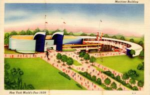 NY - 1939 New York World's Fair. Maritime Building