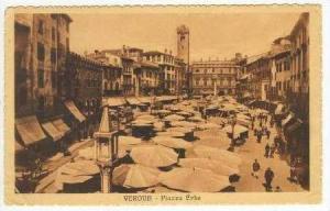 Verona, Piazza Erbe, Italy, 00-10s