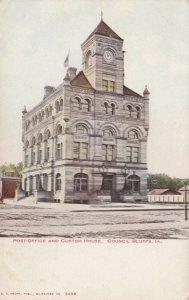 COUNCIL BLUFFS , Iowa , 1901-07 ; Custom House & Post Office