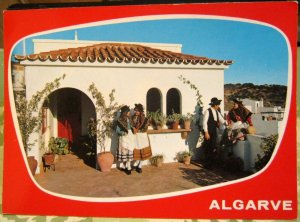Portugal Algarve Traditional Costume - posted 1984