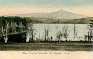 NH - Marlboro. Stone Pond and Monadnock Mountain