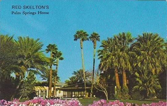 California Palm Springs Red Skeltons Home