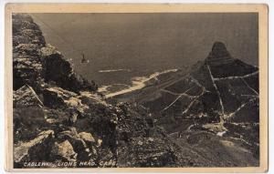 South Africa; Cableway & Lions Head, Cape PPC, Unposted, By Newman