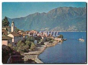 Postcard Modern Pittoresco Gambarogno Gerra Gamb