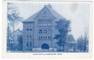 Leominster, Mass, Town Hall
