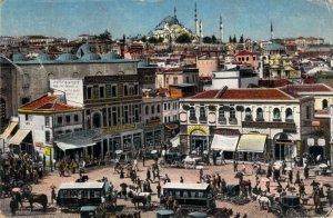 Turkey Constantinople Place D'Emine Eunue Carte Postale Postcard