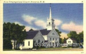 First Congregational Church Hampton NH Unused