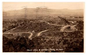 New Mexico  Aerial View Goat Hill and Raton Pass ,  RPC