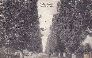 HAMILTON, Ontario, Canada, PU-1907; Poplar Avenue