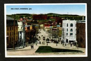 Quebec View King St SHERBROOKE Canada Carte Postale