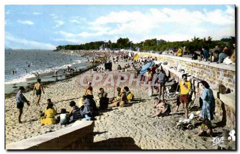 St Brevin Postcard Modern Beach