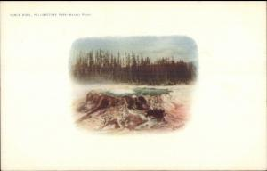 Yellowstone National Park c1900 Haynes Postcard myn EXC COND PUNCH BOWL