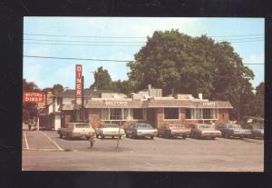 MILFORD PENNSYLVANIA PA. THE MILFORD DINER 1960's CARS