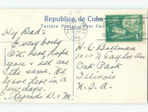 Linen NICE VIEW Havana - Habana Cuba i4304