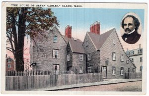 Salem, Mass, The House Of Seven Gables