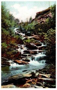 Pennsylvania Carbondale , Hackett Brook Falls