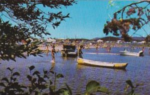 Town of Chibougamau, Gilman Beach, Maine, 40-60s
