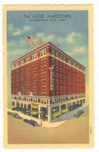 The Hotel Jamestown, Jamestown, New York, 1930-1940s
