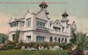 HOLLYWOOD , California , 1911 ; Paul De Longpre Home