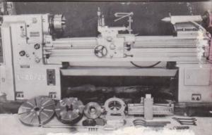 Imperial Lathe Model L Aaron Machinery Company New York Dexter Press