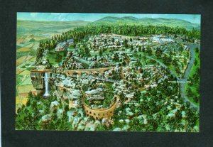 TN Birds Eye Rock City Lookout Mountain Chattanooga Tennessee Postcard