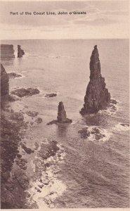 JOHN O'GROATS, Caithness, Scotland, 1900-1910s; Part Of The Coast Line