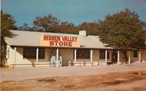 Best Printing 1960s Johnson City Texas Hidden Valley Country Store postcard 123